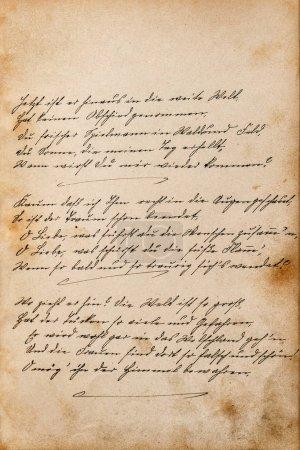 Photo pour Texte manuscrit non défini. Fond texture vintage. Papier numérique - image libre de droit