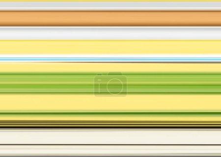 Photo pour Fond rayé. Conception de lignes abstraites. Modèle avec des couleurs d'automne - image libre de droit