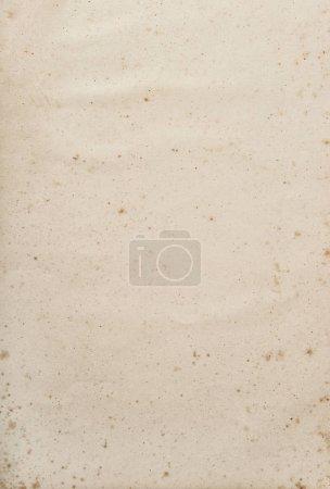 Photo pour Ancienne texture de feuille de papier utilisé. Fond kraft vide - image libre de droit