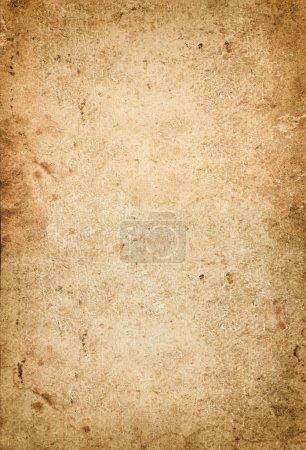 Photo pour Grungy utilisé papier fond de texture de carton avec vignette - image libre de droit