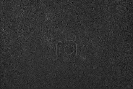 Foto de Fondo oscuro muro de hormigón con textura. Textura de pared de cemento negro para diseño de interiores. Copiar espacio para texto. - Imagen libre de derechos