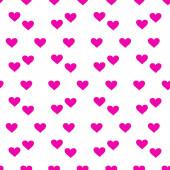 Heart background Seamless vector pattern