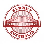 Stamp Sydney Harbour Bridge Australia