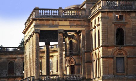 Photo pour Ruines of witley court worcestershire england uk - image libre de droit