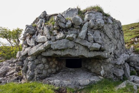 bunker made from stones