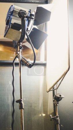 Photo for Image of studio lighting setup - Royalty Free Image