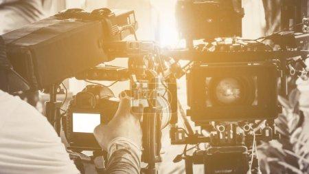 Photo pour Image de l'équipement de caméra professionnelle - image libre de droit