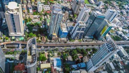 Photo pour Vue sur Bangkok - image libre de droit