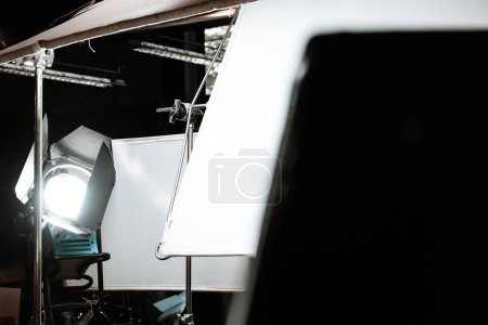 Photo for Image of Studio equipment lighting background - Royalty Free Image