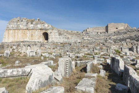 Miletus, founded by the Greeks on the coast of Asi...