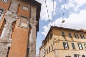 bâtiments dans la vieille ville européenne, Pisa, Italie