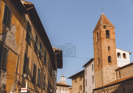Photo for Old houses in historical european city, Pisa, Italy - Royalty Free Image