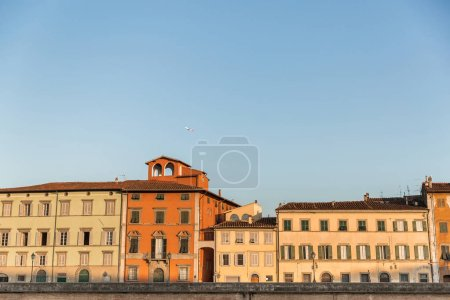 Photo for Landmark with ancient buildings in historical city, Pisa, Italy - Royalty Free Image
