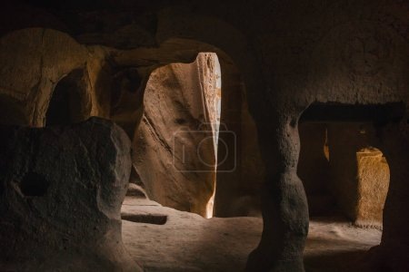 Photo for Scenic view inside the cave in famous cappadocia, turkey - Royalty Free Image
