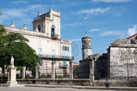Palacio del Segundo Cabo near Plaza de Armas in Havana, Cuba, Caribbean