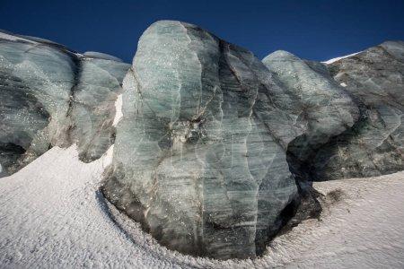 Photo pour Superbe image d'un mur de glace - image libre de droit