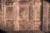 """Постер, картина, фотообои """"Резной потолок храм Шивы. Airavatesvara Храм, Всемирного наследия ЮНЕСКО, Darasuram, возле Кумбаконаме, Тамилнад, Индия"""""""