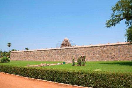 Prakara wall, Airavatesvara Temple, Darasuram Tamil Nadu India