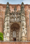 Cathedral Basilica of Saint Cecilia, also known as Albi Cathedral, is the most important Catholic building in Albi, France. Main portal
