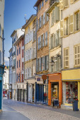 Street in Le Puy-en-Velay, France