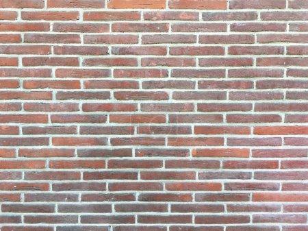 Photo pour Texture de mur de brique moderne. Surface d'architecture grunge. Vintage moderne texture matière fond. Revêtement de style loft. - image libre de droit