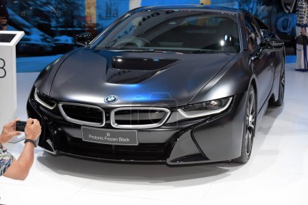 """Photo for Car brand and related items. Come out to trade shows. """"Big Motor Show 2018 """"at Bangkok International Trade & Exhibition Center, Bangna, Bangkok, Thailand on August 18-24, 2018. - Royalty Free Image"""