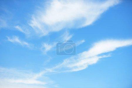 Foto de Nubes blancas en el cielo azul - Imagen libre de derechos