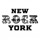 Typographic rock slogan tee shirt graphics