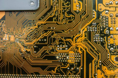 Photo for Computer circuit technology background - Royalty Free Image