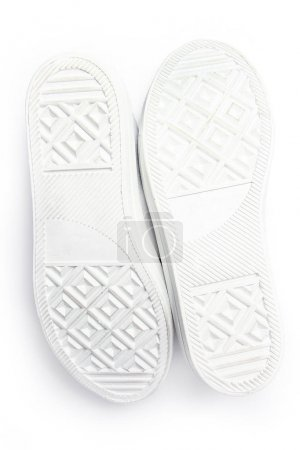 Photo for Beautiful stylish footwear for sports on a white background - Royalty Free Image