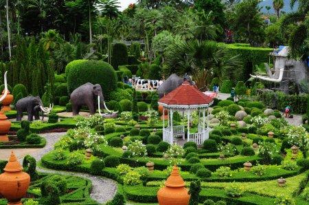 Green garden Nong Nooch in Pattaya, Thailand