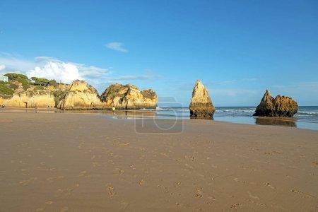 Photo for Praia Tres Irmaos in Alvor the Algarve Portugal - Royalty Free Image