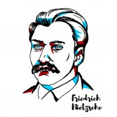 Friedrich Nietzsche Portrait