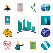 Set Of 13 simple editable icons such as contruction albatross tennis court tour guide lion dance photography camera tiger upgrade notification can be used for mobile web UI