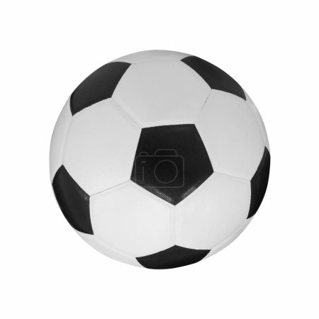 Ball, Football, Soccer ball isolated on white background with clipping path.