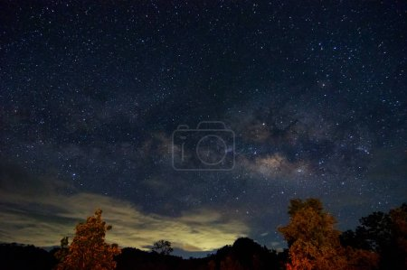 Photo for Detail from the milky way, long speed exposure. - Royalty Free Image