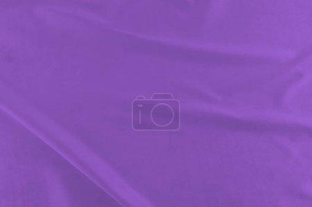 Photo pour Soie blanche élégante lisse ou tissu satin luxe peut utiliser comme arrière-plan de mariage. Luxueux Christmas background ou la conception graphique du nouvel an. texture de tissu blanc. Surface de tissu de Textile. vue de dessus. - image libre de droit