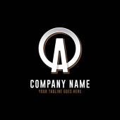O A initial logo vector O letter logo inspirations