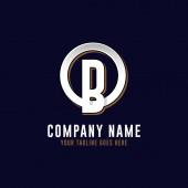 O B initial logo vector O letter logo inspirations