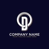 OD initial logo vector O letter logo inspirations