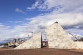 Pyramid Sculpture Wellington New Zealand
