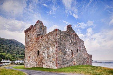 Photo pour Château de Lochranza sur l'île d'Arran, North Ayrshire, Écosse - image libre de droit