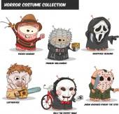 Hank Horror Costume Set (Vector Cartoon Characters)