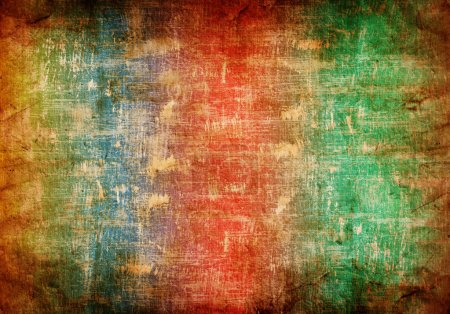 abstract grunge background in rainbow colors
