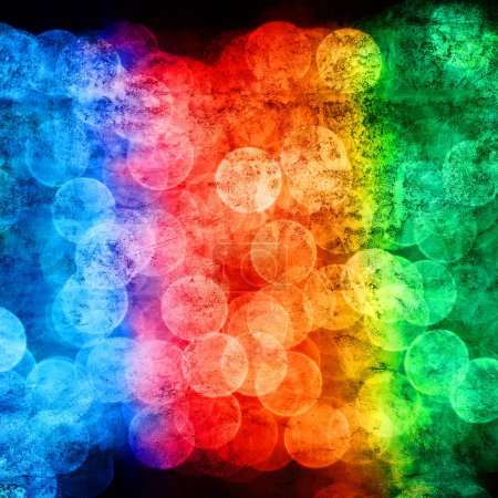 Photo for Abstract grunge background in rainbow colors - Royalty Free Image