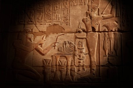 Photo pour Temple de Karnak à Louxor, Égypte - image libre de droit