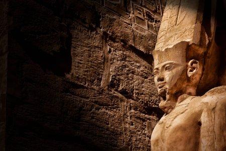 Photo pour Temple Karnak à Louxor, Égypte - image libre de droit