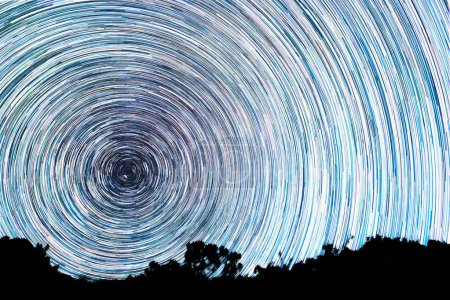 Tracks from stars in the form of lines
