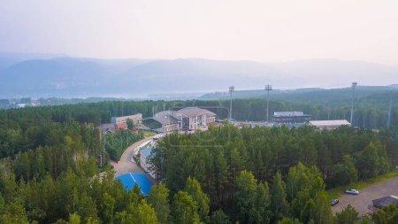 Russia Krasnoyarsk July 23 2018