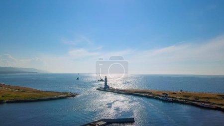 Russia Lake Baikal The lighthouse